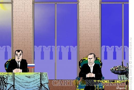 Карикатура: Два подхода, Богорад Виктор