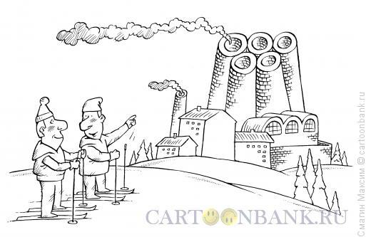 Карикатура: Олимпийский завод, Смагин Максим