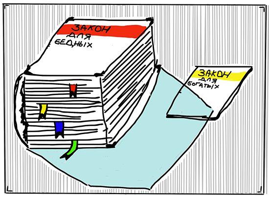 Карикатура: Закон, C1
