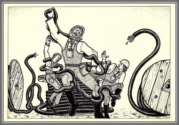 Карикатура: без слов, николай ломачинский