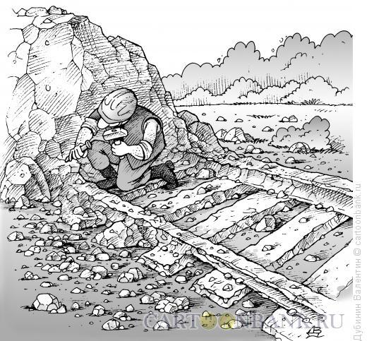 Карикатура: Дело всей жизни, Дубинин Валентин