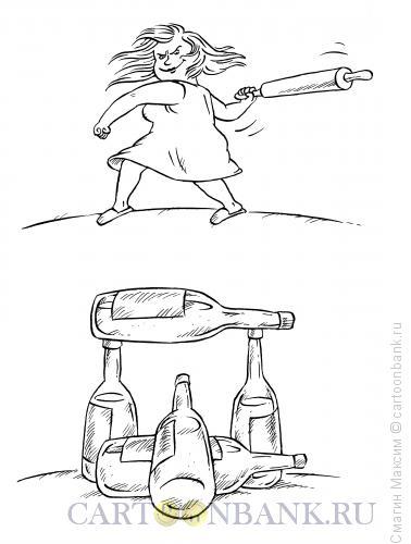 Карикатура: Городки, Смагин Максим