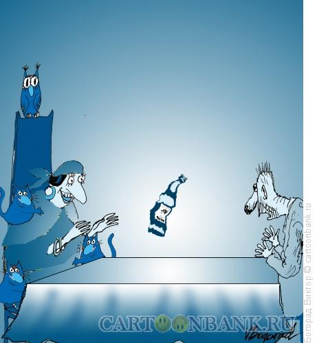 Карикатура: Програмирование от алкоголизма, Богорад Виктор