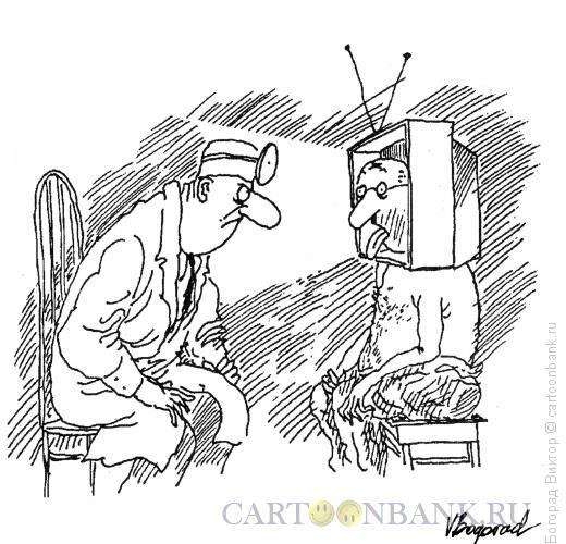 Карикатура: Телеман, Богорад Виктор