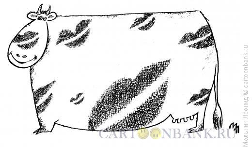 Карикатура: Оригинальный окрас, Мельник Леонид