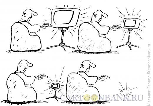 Карикатура: наше TV, Мельник Леонид