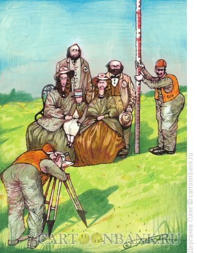 Карикатура: Семейный портрет, Дергачёв Олег