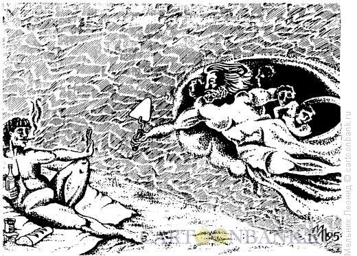 Карикатура: Не надо!, Мельник Леонид