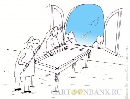 Карикатура: Пул, Шилов Вячеслав