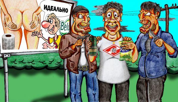 Карикатура: разжигание межнациональной дружбы, Дмитрий Субочев
