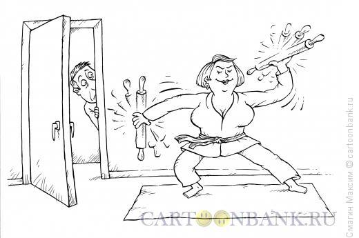 Карикатура: Скалки, Смагин Максим