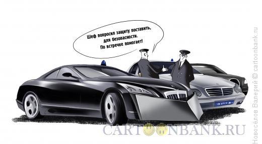 Карикатура: защита государственных чиновников, Новосёлов Валерий