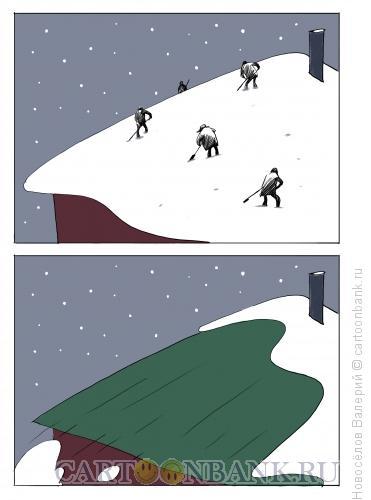 Карикатура: сдуло, Новосёлов Валерий