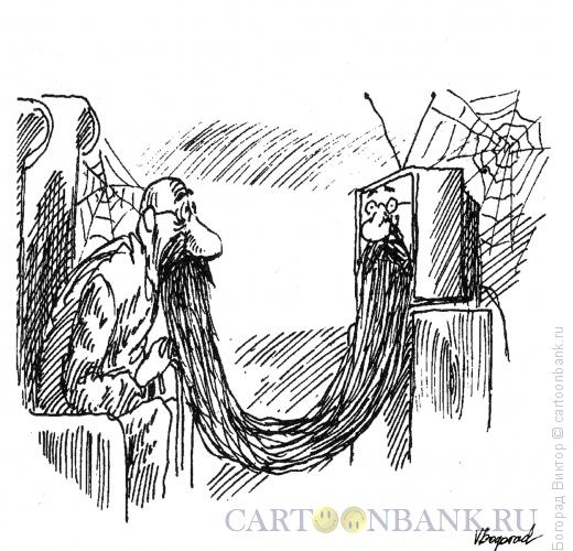 Карикатура: Старая передача, Богорад Виктор