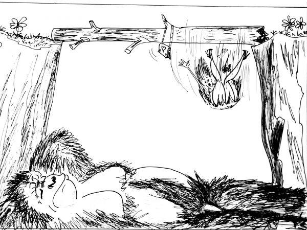 Карикатура: Тревожный сон, Валерий Каненков
