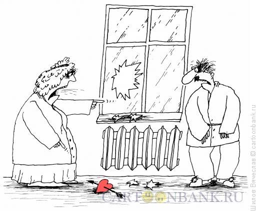 Карикатура: Улика, Шилов Вячеслав