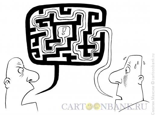 Карикатура: Лабиринт, Смагин Максим