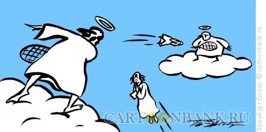 Карикатура: Игра душами, Эренбург Борис