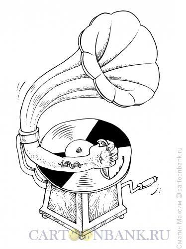 Карикатура: Шансон, Смагин Максим