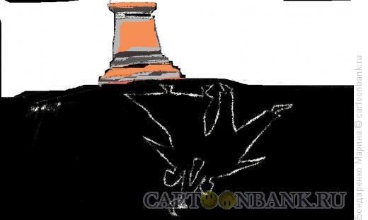 Карикатура: Рабочий и колхозница, Бондаренко Марина
