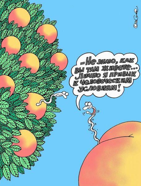 Карикатура: Человеческие условия, Олег Горбачев