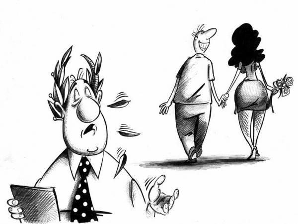 Карикатура: Венцерог, Сергей Корсун