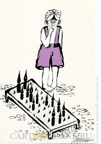 Карикатура: Ученик, Бондаренко Марина