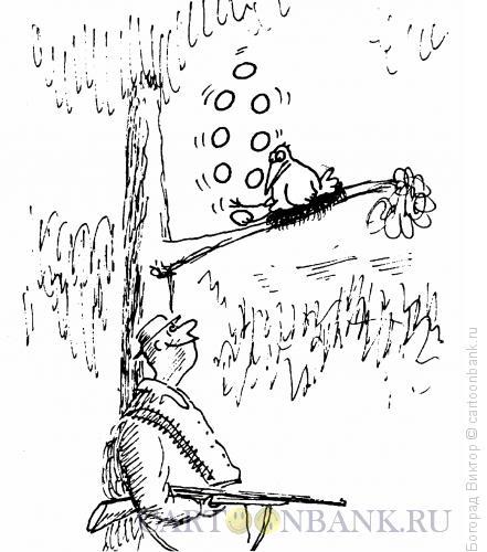 Карикатура: Жонглер, Богорад Виктор