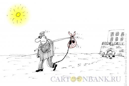 Карикатура: Узелок, Шилов Вячеслав