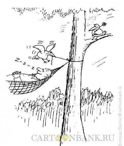 Карикатура: Защитник, Богорад Виктор