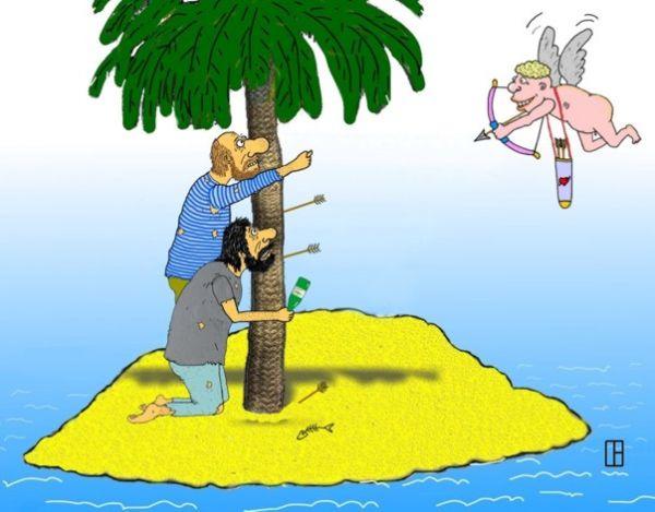 Карикатура: Извращенец, Олег Тамбовцев