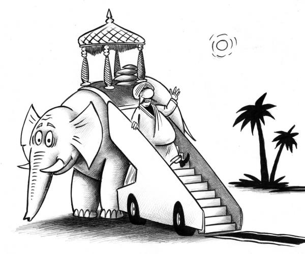 Карикатура: Шах, Сергей Корсун