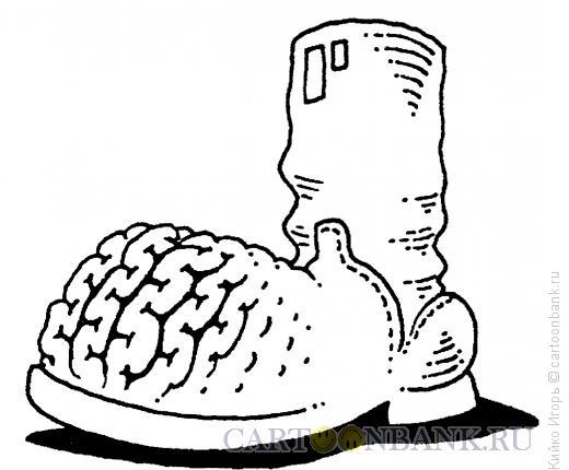 Карикатура: Сапог, Кийко Игорь
