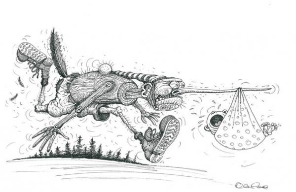 Карикатура: ., Олег Горбачев