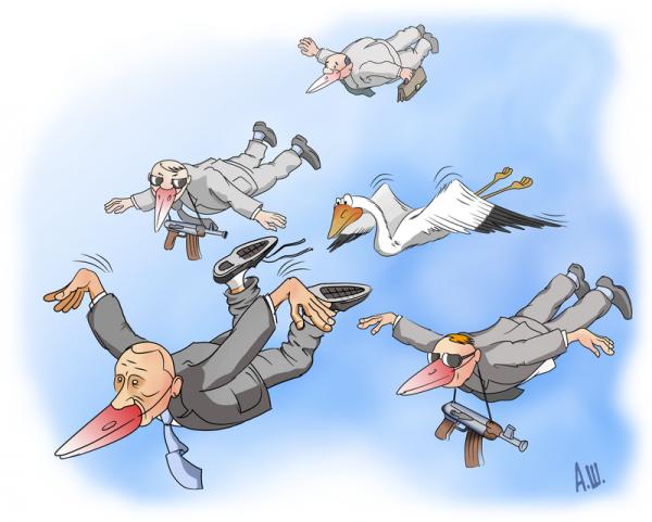 Карикатура: Косяк, Александр Шабунов
