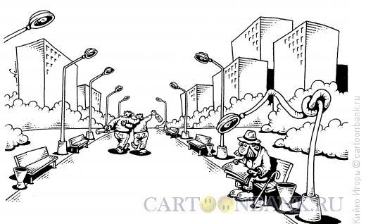 Карикатура: Дебоширы, Кийко Игорь