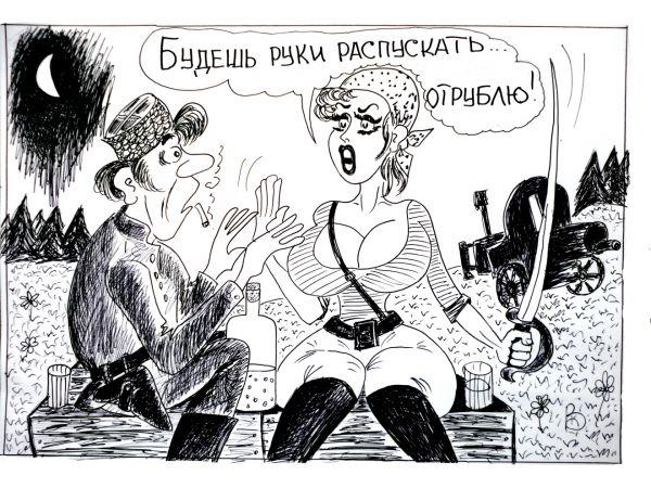 Карикатура: Последнее предупреждение, Валерий Каненков