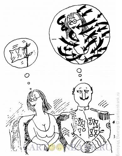 Карикатура: Белый флаг, Богорад Виктор