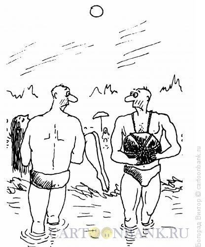 Карикатура: Ноша, Богорад Виктор
