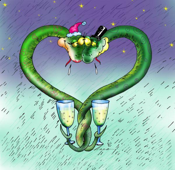 Карикатура: идиллия, Алла Сердюкова