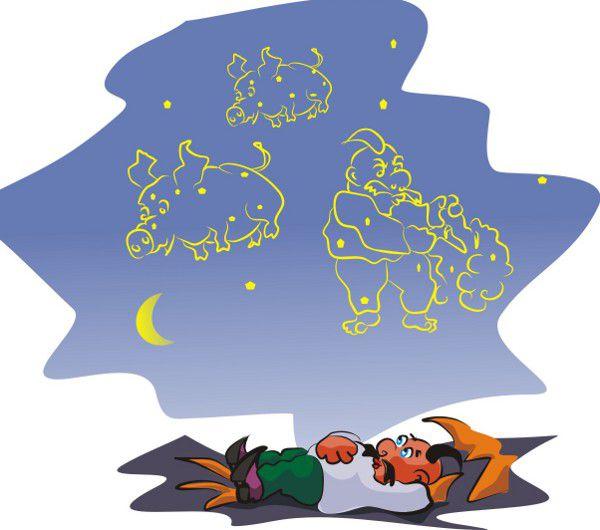 Карикатура: Созвездия