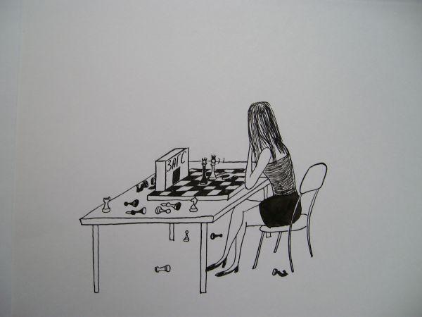 Карикатура: Желание девушки, Петров Александр