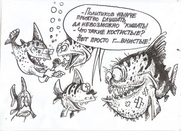 Карикатура: мнение глубинки, Бауржан Избасаров