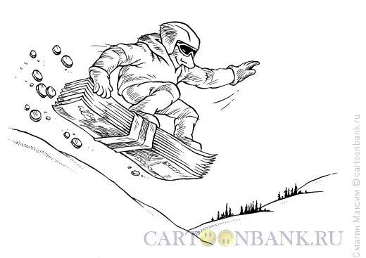 Карикатура: Финансовая основа, Смагин Максим