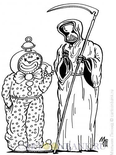 Карикатура: Аллегория, Мельник Леонид