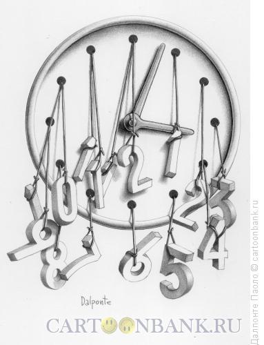 Карикатура: lost hours, Далпонте Паоло