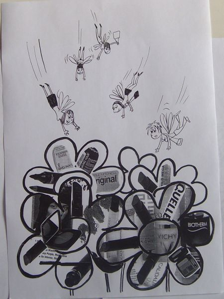 Карикатура: Женские заморочки, Петров Александр