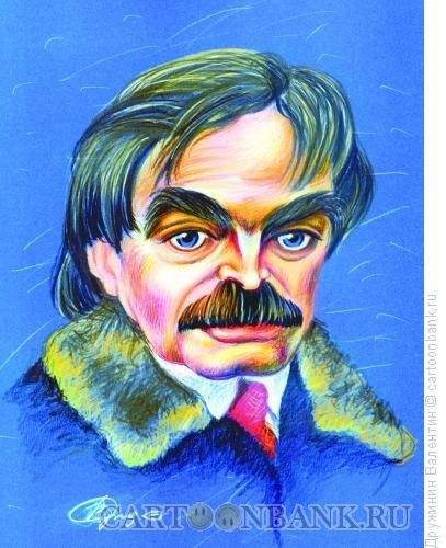 Карикатура: Александр Адабашьян, Дружинин Валентин