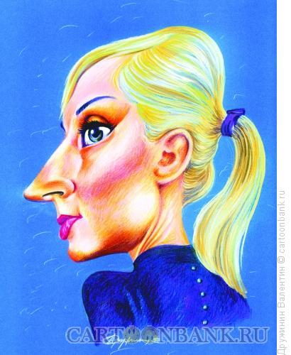 Карикатура: Кристина Орбакайте, Дружинин Валентин