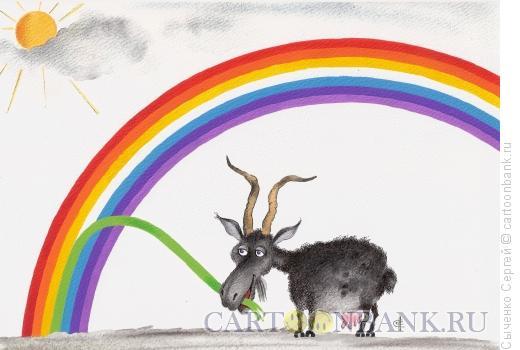 Карикатура: Зелёный, Сыченко Сергей